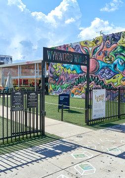 Entrance to Miami Wynwood Walls