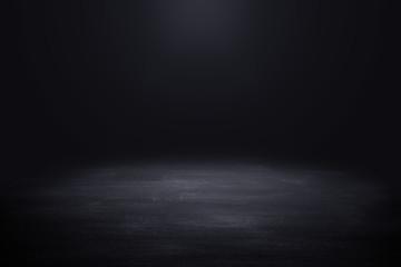 Deurstickers Licht, schaduw Dark room with light background.