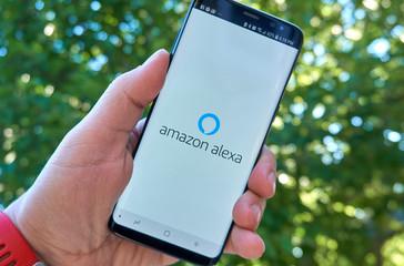 Amazon Alexa mobile app on Samsung s8.