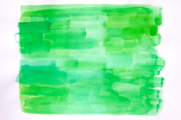 watercolor background with pastel green