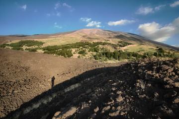 Volcanic Slope Of Etna Mount, Sicily
