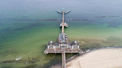 Sellin - a city, resort and port on the Baltic Sea on the island of Rügen
