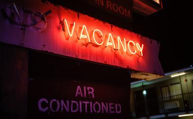 Hotel Vacancy Sign