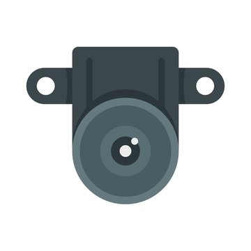 Action small camera icon. Flat illustration of action small camera vector icon for web design