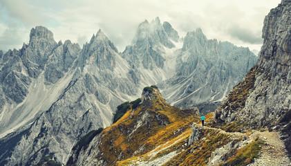 Wall Mural - Auszeit am Gipfel