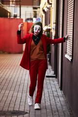 young woman Joker