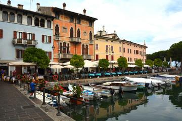 Spoed Fotobehang Scandinavië Desenzano del Garda at the Lake Garda - Italy.