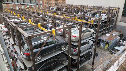 Fototapeta parking obraz