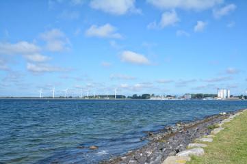 Blick nach Burgstaaken auf der Insel Fehmarn,Ostsee,Schleswig-Holstein,Deutschland