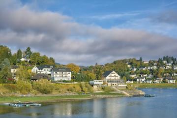 Urlaubsort Rurberg am Rursee,Eifel,Nordrhein-Westfalen,Deutschland