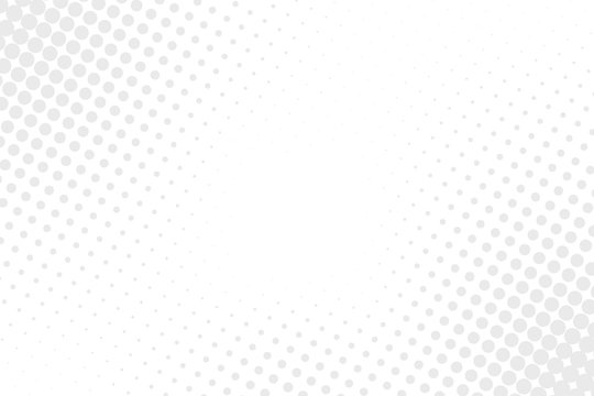 Simple abstract vector background. White and gray halftone pattern