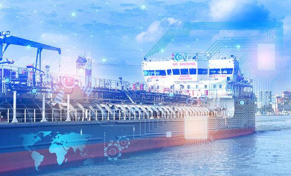 The Internet of things and artificial intelligence to solve logistics problems and solve the safe transportation of LNG. Industry 4.0 in maritime transport