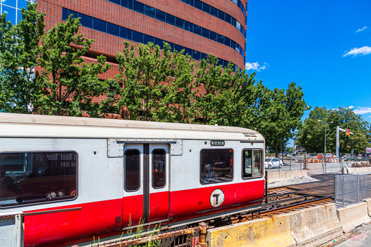 Boston Transit in Motion