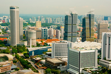 Buildings in the City of Singapore