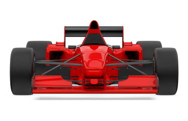 Keuken foto achterwand F1 Red Formula One Race Car Isolated