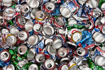 Recycling - Aluminium Drinks Cans