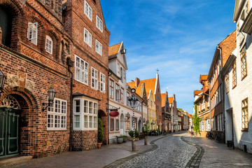 Streets of Luneburg city, Germany
