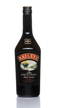 Moscow, Russia, October 10, 2019, Bottle of Baileys Irish Cream, Original Ireland, isolate
