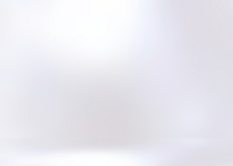 Pearl empty wall 3d background. White flare. Amazing subtle gleaming texture. Clean blank room template.
