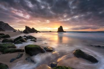 Simplicity, natural sunset