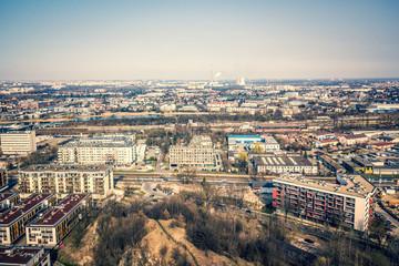 Poland, Cracow, city panorama