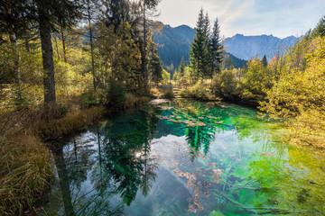 Das Meerauge bei Bodenteich, Kärnten, Österreich