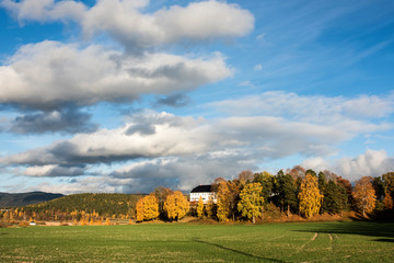 Autumn in Norway near Oslo