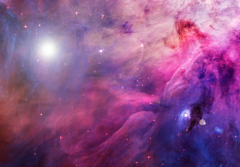 A beautiful galaxy, with stars, nebulae, and glow. Elements of this image were furnished by NASA.