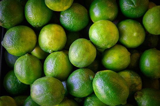 Fresh, Ripe Limes
