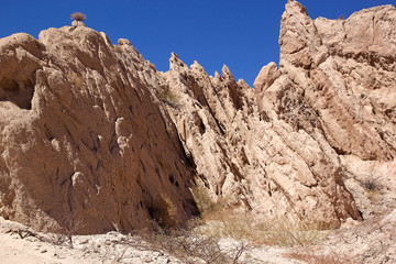Gorge of Arrows at Angastaco, Argentina
