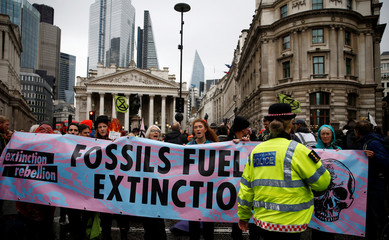 Extinction Rebellion protest in London