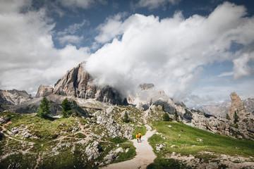 Wall Mural - Cinque Torri Natural Park, Cortina d'Ampezzo, Dolomites, Veneto, Italy