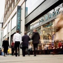 Primark store, Oxford Street, London  fashion chain store entrance; Oxford Street, London