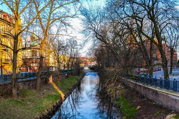 Kłodnica Gliwice, a beautiful river