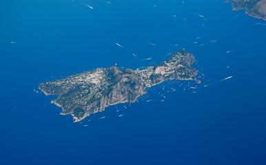 Capri, Aerial View