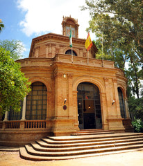Domecq Pavilion at the 1929 Ibero-American Exhibition located in the Maria Luisa Park in Seville Andalusia Spain