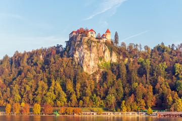 Burg von Bled, Slowenien