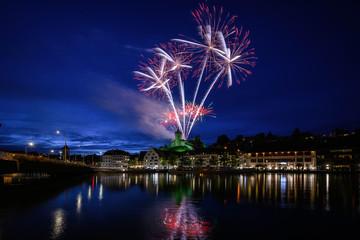 Munotfeuerwerk zum Kinderfest 21.08.2019