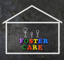 Foster Care concept
