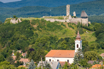 Castle of Nograd, region Nothern Hungary