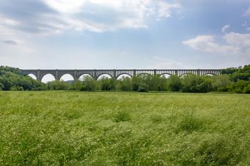 Historic Tunkhannock Creek Viaduct Bridge, Nicholson, Pennsylvania, United States of America
