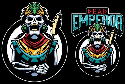 Dead Emperor Mascot