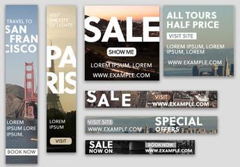 Sale Web Banners Set