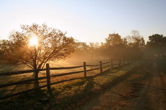 Rural Sunrise
