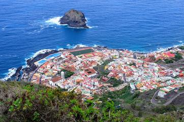 Garachico town on Tenerife, Spain