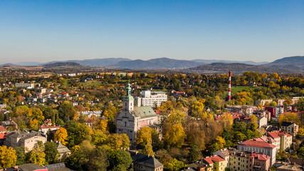 Fototapeta Polski Cieszyn- Miasto graniczne obraz