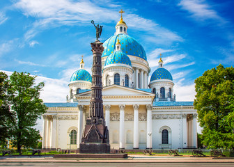 Trinity Cathedral, Saint Petersburg, Russia