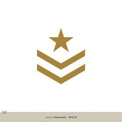 Star Badge Emblem Vector Logo Template Illustration Design. Vector EPS 10.