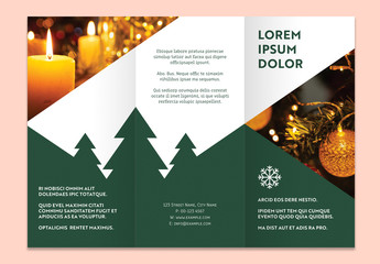 Christmas Flyer Promotional Layout Set