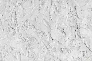 White wall with coarse and coarse texture. Background image